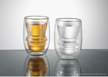 Double Glass Mug