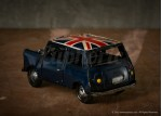 Union Jack Toy Mini - Black