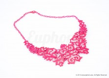 Neon Damask Necklace