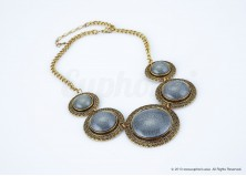 Blue Ethnic Necklace