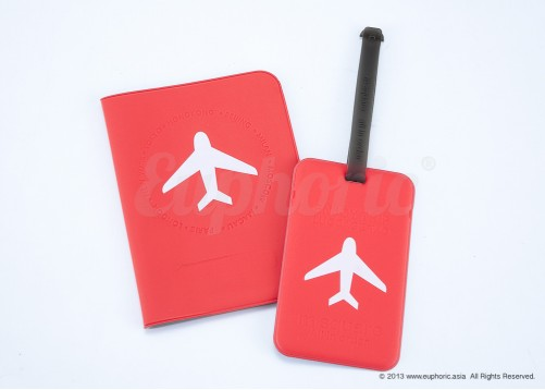 2-piece Travel Bundle – Red