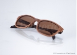 Dean – Brown Curved Sunglasses