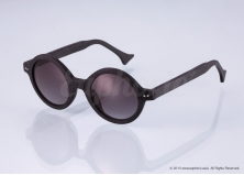 Luna – Black Circle Sunglasses
