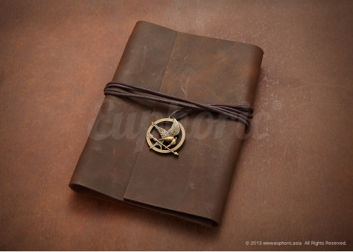 Brown Medallion Journal