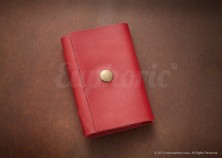 Ruby Red Card Holder