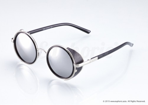 Voltaire – Silver Blinkers Sunglasses